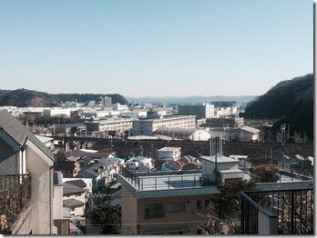 久里浜3丁目高台からの眺め