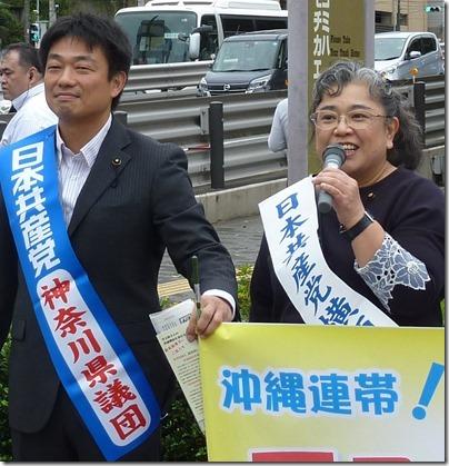 2018年原子力空母10年抗議集会 (11)