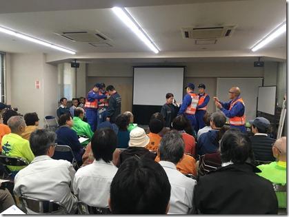 久里浜地区原子力防災訓練・八幡町内・2018年 (13)