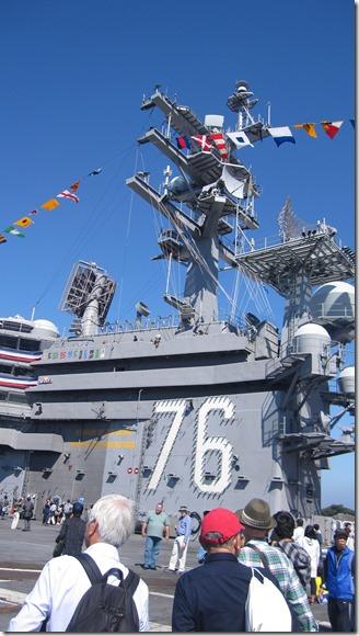 米海軍基地開放ロナルド・レーガン乗船 (44)