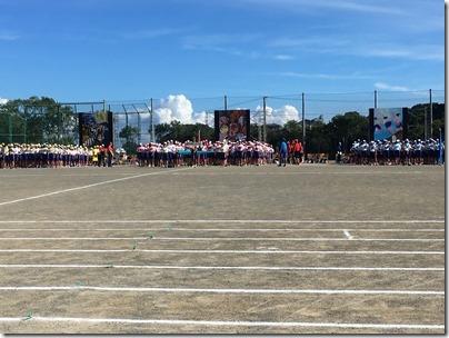 浦賀中学校体育祭2019年