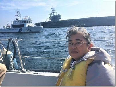 原子力艦1,000回入港海上からの抗議行動1 (42)
