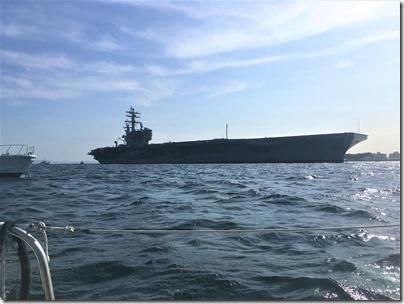 原子力艦1,000回入港海上からの抗議行動1 (38)