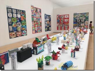 第72回児童生徒造形作品展鑑賞 護衛艦「たかなみ」の中東派遣に反対する 市立小・中学校の少子化のい実態 中島三郎助生誕祭