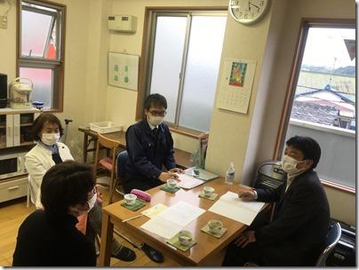 自粛の影響について市内の子ども施設、医療機関、商店街、高齢者施設に聴き取りに伺いました。