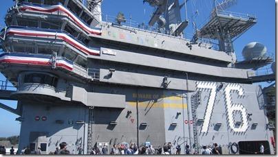 米海軍基地開放ロナルド・レーガン乗船 (47)
